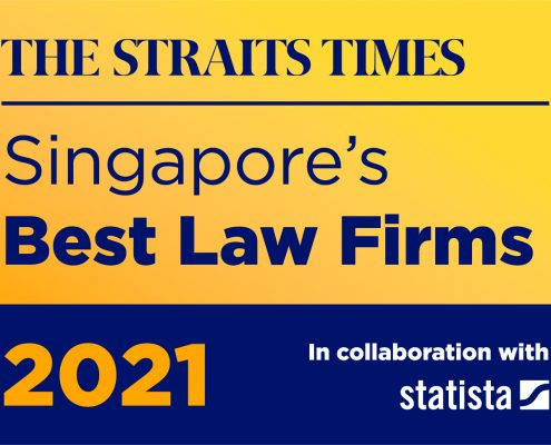 """PKWA Law named as a top family law firm in the Straits Times""""Singapore's Best Law Firms 2021"""" award ranking"""